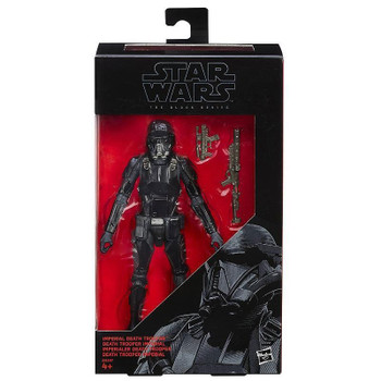 Star Wars The Black Series 6-Inch #25 IMPERIAL DEATH TROOPER Action Figure