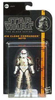 "Star Wars The Black Series 3.75"" #16 CLONE COMMANDER NEYO Action Figure"