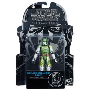 "Star Wars The Black Series 3.75"" CLONE COMMANDER DOOM Action Figure"