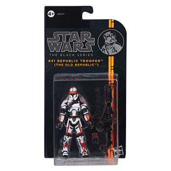 "Star Wars The Black Series 3.75"" #31 REPUBLIC TROOPER (The Old Republic) Action Figure"