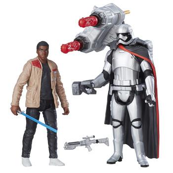 """Star Wars 3.75"""" FINN vs. CAPTAIN PHASMA Figures"""