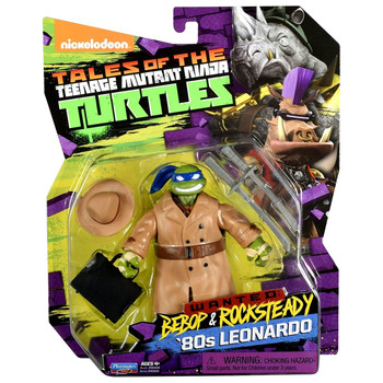 Teenage Mutant Ninja Turtles Wanted: Bebop & Rocksteady '80s LEONARDO Figure