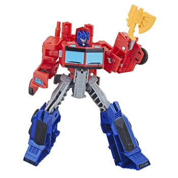 Transformers Cyberverse Action Attackers Warrior Class OPTIMUS PRIME Figure