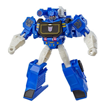 Transformers Cyberverse Action Attackers Warrior Class SOUNDWAVE Figure
