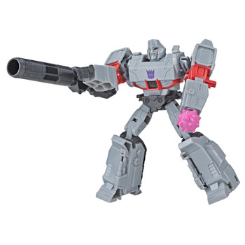 Transformers Cyberverse Action Attackers Warrior Class MEGATRON Figure
