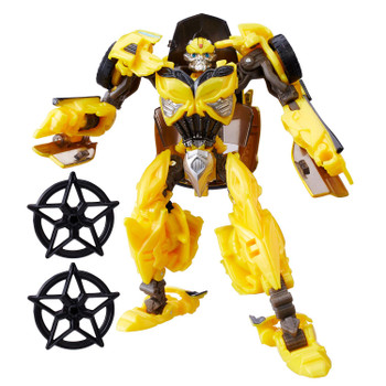 Transformers The Last Knight Premier Edition Deluxe Class BUMBLEBEE (with Throwing Stars)