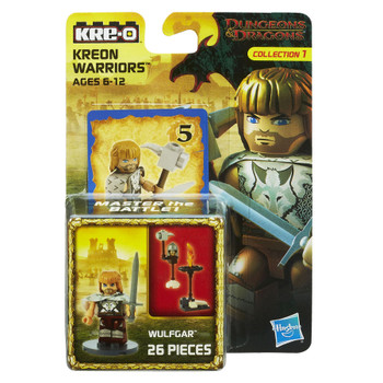 Kre-O Dungeons & Dragons WULFGAR Kreon Warrior