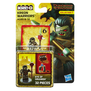 Kre-O Dungeons & Dragons EYE OF GRUUMSH Kreon Warrior