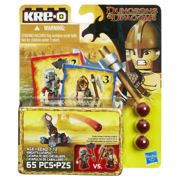 Kre-O Dungeons & Dragons KNIGHT'S CATAPULT Construction Set