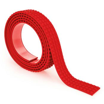 Mayka Toy Block Tape RED 2m/6.5ft 4-Stud
