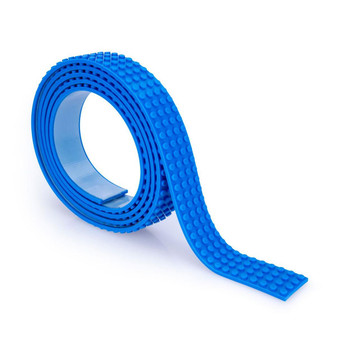 Mayka Toy Block Tape BLUE 2m/6.5ft 4-Stud