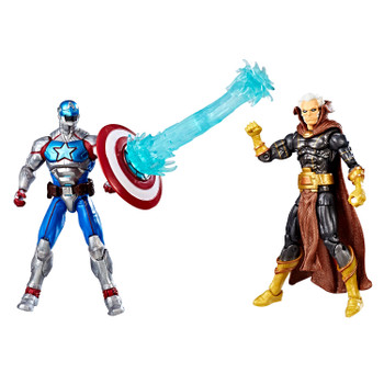 "Marvel Gamerverse Contest of Champions 3.75"" CIVIL WARRIOR vs. Marvel's THE COLLECTOR 2-pack"