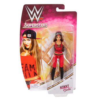 "WWE Superstars NIKKI BELLA 6.5"" Action Figure"