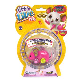 Little Live Pets Lil' Mouse Series 3 - LOLLY RAPPER