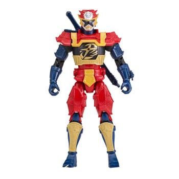 "Power Rangers Super Ninja Steel 5"" Lion Fire Armor GOLD RANGER Action Hero Figure"
