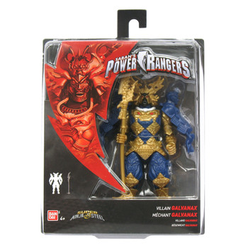 "Power Rangers Super Ninja Steel 5"" Villain GALVANAX Action Figure"