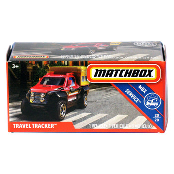 Matchbox Power Grabs TRAVEL TRACKER 1:64 Scale Die-cast Vehicle