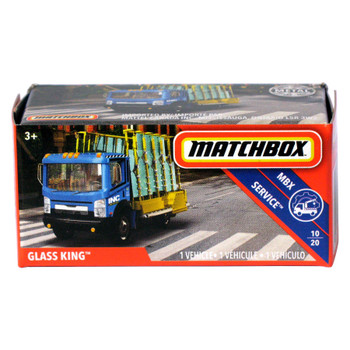 Matchbox Power Grabs GLASS KING 1:64 Scale Die-cast Vehicle