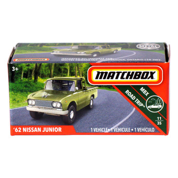 Matchbox Power Grabs '62 NISSAN JUNIOR 1:64 Scale Die-cast Vehicle