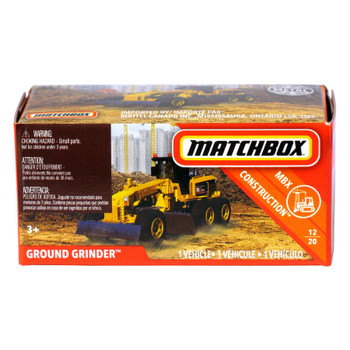 Matchbox Power Grabs GROUND GRINDER 1:64 Scale Die-cast Vehicle