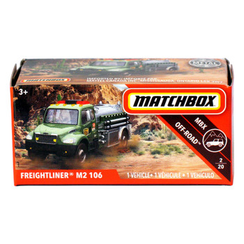 Matchbox Power Grabs FREIGHTLINER M2 106 1:64 Scale Die-cast Vehicle