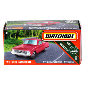 Matchbox Power Grabs '61 FORD RANCHERO 1:64 Scale Die-cast Vehicle