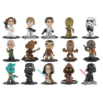 "Funko Mystery Minis Star Wars: A New Hope 2.5"" Vinyl Bobble-Head Figures (GameStop Exclusive)"