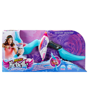 Nerf Rebelle Super Soaker Dolphina Bow