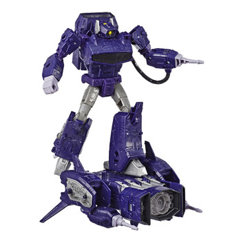 Transformers War for Cybertron: Siege Leader Class SHOCKWAVE