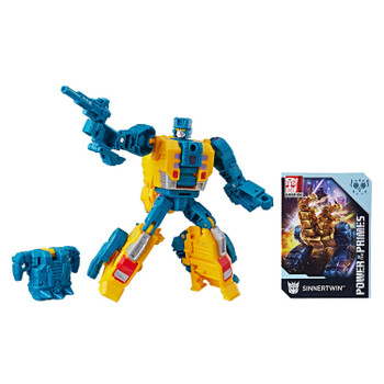 Transformers Power of the Primes Deluxe Class SINNERTWIN