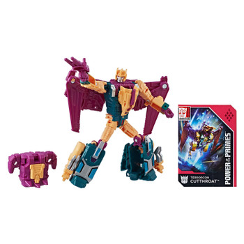 Transformers Power of the Primes Deluxe Class Terrorcon CUTTHROAT