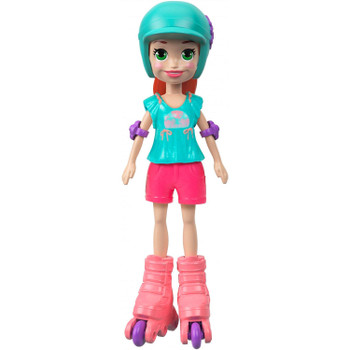 This Roller Chic Lila doll stands around 3.5 inches (9 cm) high and is ready for adventure, anytime, anywhere!