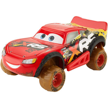 Disney Pixar Cars: XRS Mud Racing LIGHTNING McQUEEN 1:55 Scale Die-Cast Vehicle