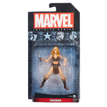 "Marvel Infinite Series SHANNA 3.75"" Action Figure"
