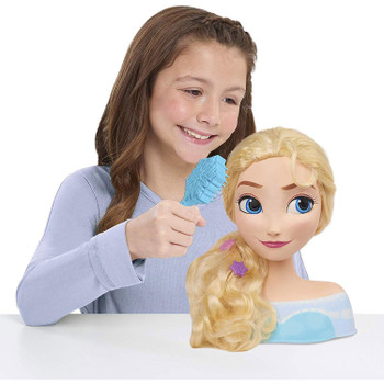 Disney Frozen ELSA Styling Head with 13 Accessories