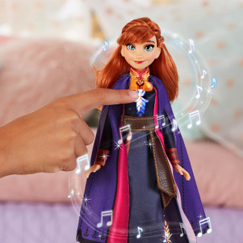 Disney Frozen II Singing ANNA Fashion Doll