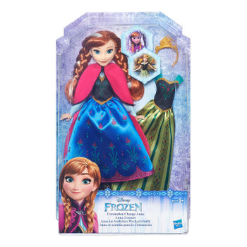 Disney Frozen Coronation Change ANNA Fashion Doll
