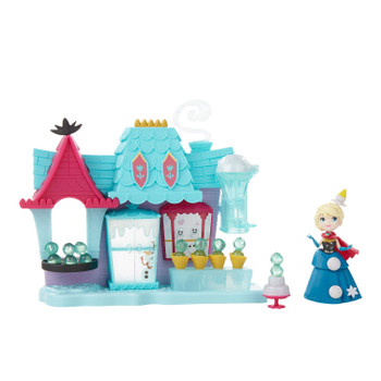Arendelle Treat Shoppe playset has movie-inspired details.