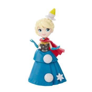 Little Kingdom Elsa doll stands around 3 inches (8 cm) tall.