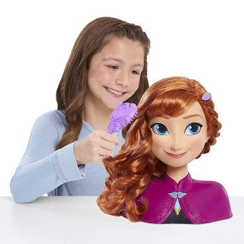 Disney Frozen ANNA Styling Head with 13 Accessories