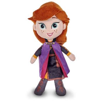Disney Frozen II - ANNA 8-inch (20 cm) Plush Doll Soft Toy