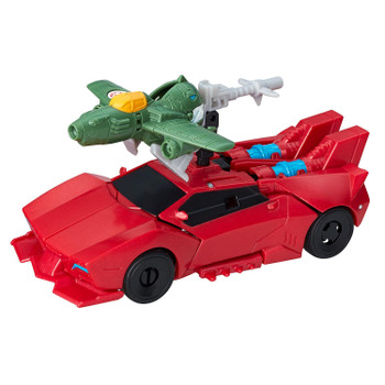 Transformers Robots in Disguise Combiner Force Activator SIDESWIPE and Mini-con GREAT BYTE