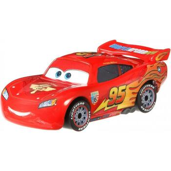 Disney Pixar Cars: LIGHTNING McQUEEN with Racing Wheels 1:55 Scale Die-Cast Vehicle