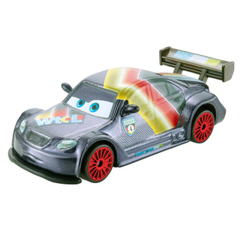Disney Pixar Cars Neon Racers MAX SCHNELL 1:55 Scale Die-Cast Vehicle