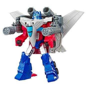 Transformers Cyberverse Elite Class Spark Armor OPTIMUS PRIME Figure