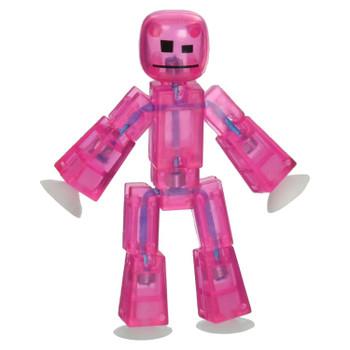 Stikbot Pink Translucent Figure