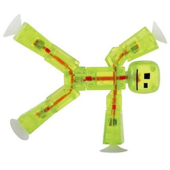Stikbot Lime Green Translucent Figure