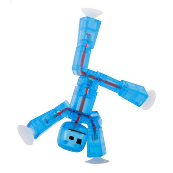 Stikbot Light Blue Translucent Figure