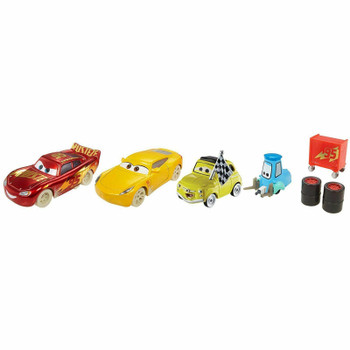 Disney Pixar Cars 3: FIREBALL BEACH RACE 4-Pack of 1:55 Scale Die-Cast Vehicles