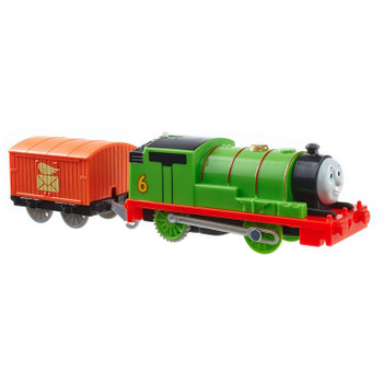 TrackMaster Percy motorized toy train.